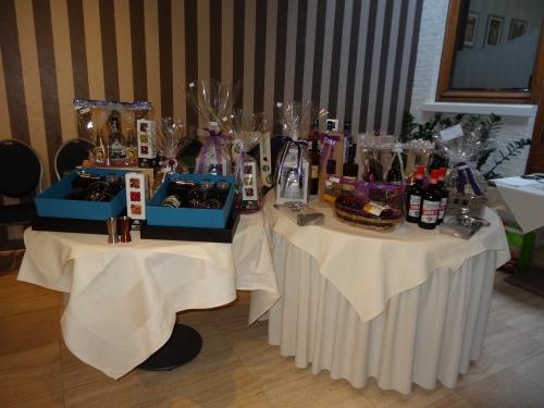 cadeaus, gin, wijn